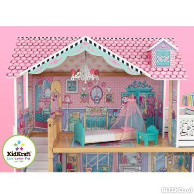 Как сделать большой дом для кукол