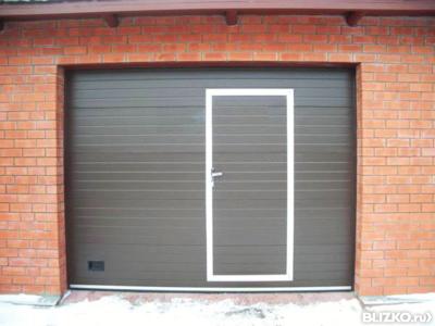 гаражные ворота с калиткой в казани