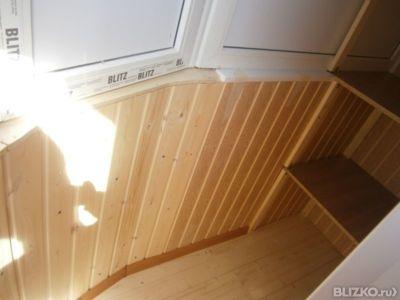 Внутренняя отделка пола, стен и потолка на балконах в самаре.