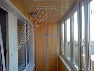 Установка шкафаов на балконах и лоджиях от компании алькор-с.