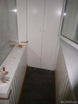 Шкафы и тумбы на балконы и лоджии от компании алькор-строй к.