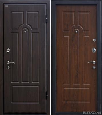 железные двери толщина 100