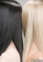 Смывка (декапирование) волос, короткие