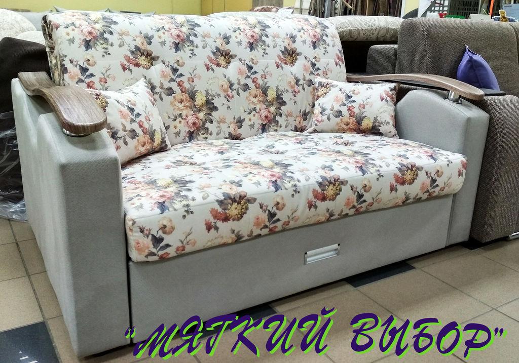 диван кровать молли 120 аккордеон велюр искусственная кожа