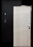 Входная стальная дверь с терморазрывом «Art-008» фрезерованный рисунок