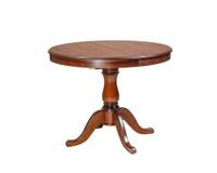 """Кухонный стол, круглый раздвижной стол """"Плутон"""" р-р 100(140) см."""